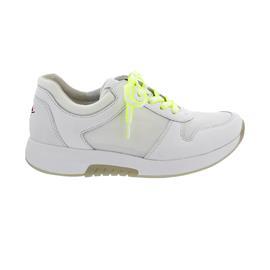 Rollingsoft Sneaker, Mesh Model / Cervo, weiss (Se. w/neogelb) Wechselfußbett 66.946.51