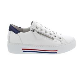 Gabor comfort, Sneaker, Cervo/Luxor, weiss/paz(w/bl/rot), Wechselfußbett 66.465.50