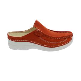 Wolky Roll-Slide, Clog, Antique nubuck, Dark-orange 0620211-555