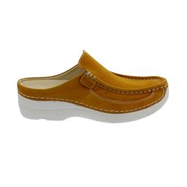 Wolky Roll-Slide, Clog, Antique nubuck, Ochre 0620211-920