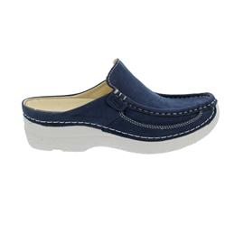 Wolky Roll-Slide, Clog, Antique nubuck, Denim 0620211-820