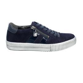 Gabor Sneaker, Samtchev/ Lack, atlantik, Best Fitting, Wechselfußbett 63.360.18