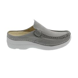 Wolky Roll-Slide, Clog, Antique nubuck, Light-grey, 0620211-206