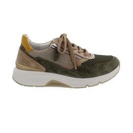 Rollingsoft Sneaker low, Mesh/Velour k., tundra/kombi, Wechselfußb. 66.898.31