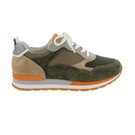 Gabor comfort, Sneaker, Mesh/Dreamvelour k. (Y), tundra/multic. (Sp), Wechselfußbett 66.365.31