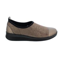 Berkemann Sari, Slipper, Leder/Stretch, bronze/shiny bronze, 5165-470