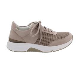 Rollingsoft Sneaker low, Mesh/ Samtchevreau, antikrosa, Wechselfußb. 66.897.35