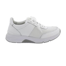Rollingsoft Sneaker low, Mesh 3D/Cervo/ Lack, weiss, Wechselfußb. 66.897.50