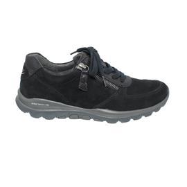 Rollingsoft Sneaker, Samtchevreau / Ohio, pazifik, Schnür./Reißvers., Wechselfußb. 76.968.26