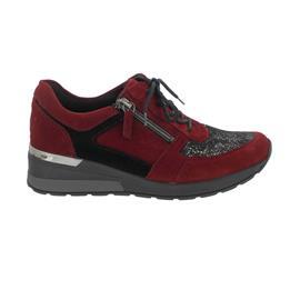 Waldläufer H-Clara-Soft Sneaker, Order/Glennstr./Order, Schnürung und Reißver., Weite H 939H01-605-019