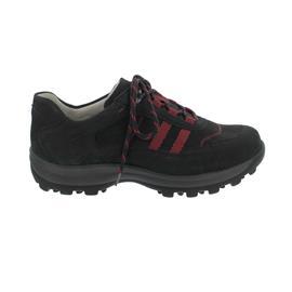 Waldläufer Kerry, Outdoor-Sneaker, Denver (Nubukled.) / Torrix, schwarz, Weite K 660002-300-001