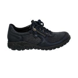 Waldläufer Havy Sneaker, Bronx Perustretch, notte - dunkelblau, Weite H H89001-228-194