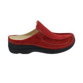 Wolky Roll-Slide, Clog, Antique nubuck, Dark-Red, 0620211-505