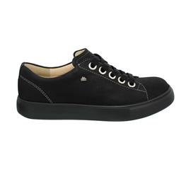 Finn Comfort Elpaso - Sneaker, Buggy (Nubukleder), schwarz Schnürschuh 2479-046099