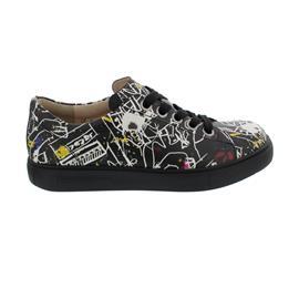 Finn Comfort Elpaso - Sneaker, Doodle (Glattleder), Blackmulti Schnürschuh 2479-721462