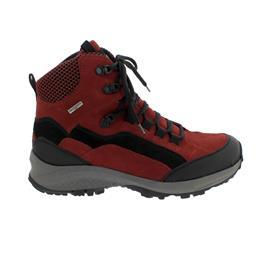 Waldläufer H-Emma,  Outdoor-/Wanderstiefel, Gummi / Nubuk, rubin / schwarz, Weite H 949977-410-612