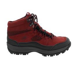 Waldläufer Holly Bootie, Waldläufer-Tex, Gummi/Denver/ Sportnet, schwarz/rubin, Weite H 471974-501-583
