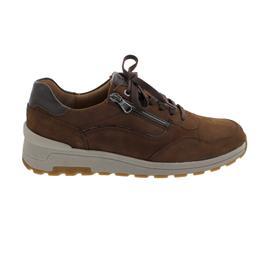 Waldläufer H-Etienne, Sneaker, Nubuk- / Glattleder, sienna brasil, Weite H, 734007-417-127