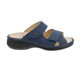 Finn Comfort Melrose Pantolette, Nubukvienna, Horizon (blau), 2622-390361