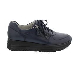 Waldläufer H-Lana Sneaker, Hirschleder, dunkelblau (notte), Weite H 758009-199-194