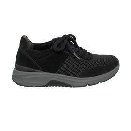Rollingsoft Sneaker low, Mesh / Dreamvelour, schwarz, (Sohle graphit), Wechselfußbett 66.897.47