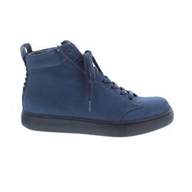 Finn Comfort Pisco - Bootie, Nubukvienna, Horizon (blau), Trend Line, Schnürung und Reißverschluss 2330-390361