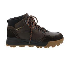 Mephisto Wayne Schnür-Boot,  Hydro-Protect, Velours 9851/Grizzly 151 (Fettleder), Dark Brown