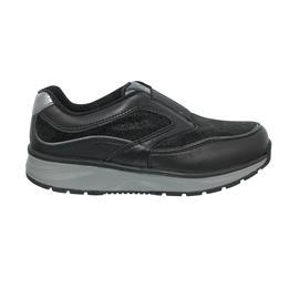 Joya Slipper Bella, Full Grain Leather / Velour Leather, Black, Air-Sohle, 910sne