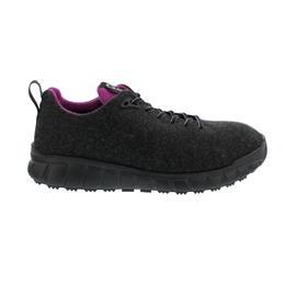 Ganter EVO Halbschuh, Merino-Textil, schwarz/pink, Kork-Fußbett, Weite H 201430-0193