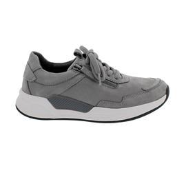 Rollingsoft Sneaker low, Nubuk, grau, Wechselfußbett 76.958.39