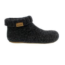 Gottstein Knit Boot, Schurwolle, schwarzmele, 48/700-4300