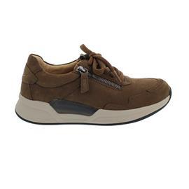 Rollingsoft Sneaker low, Nubuk, whisky, Wechselfußbett 76.958.41