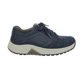 Rollingsoft Sneaker low, Nubuk/Nylon Mesh, blue, Wechselfußbett, PG 8002.10.02