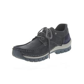 Wolky Fly Winter, Blue / Grey, Nepal oiled leather, Halbschuh 0472650-810