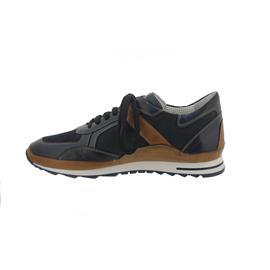 Galizio Torresi Sneaker, Glattleder/Nubuk/Tessuto, Blue/Jeans 413164