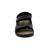 Mephisto Valden V843, Sandale, Oldbrush 11951 (Fettled.),  Wechselfußbett, Klettverschluß, dark brown