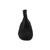 Arche Slipper Onahe, Nubuk (Belusa dbl cuir), Noir / Bronze