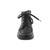 Waldläufer Hesna, Memphis (Glattleder) / Ninja (Lackled.), schwarz / stahl, Weite H 312802-204