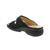 Finn Comfort Beverly-S, Knautschlack / Nubuk, schwarz, Swarovsky-Crystals, Weichbett 82574-900618