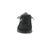 Waldläufer Helli, Dynamic-Sohle, Denver (Nubukleder), schwarz / silber, Weite H 502001-418-361