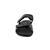 Mephisto Corado Herrensandale, Scratch 3400 (Glattleder), schwarz C3759