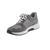 Rollingsoft Sneaker, Glamour HT/Samt k., altsilber / donkey k. (grau), Wechselfußbett 26.946.15