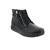Joya Wilma II Black Boot, Full-Grain Leather /Velour/ Textile, Air-Sohle, Kategorie Emotion 874cas