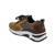 Rollingsoft Sneaker, Chicago/ Dreamv. k., marone/bronce k., Schnür./Reißvers., Wechselfußb. 56.918.44
