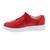 Waldläufer H-Vivien Sneaker, Hirsch-Leder, rot, Weite H 763015-199-022