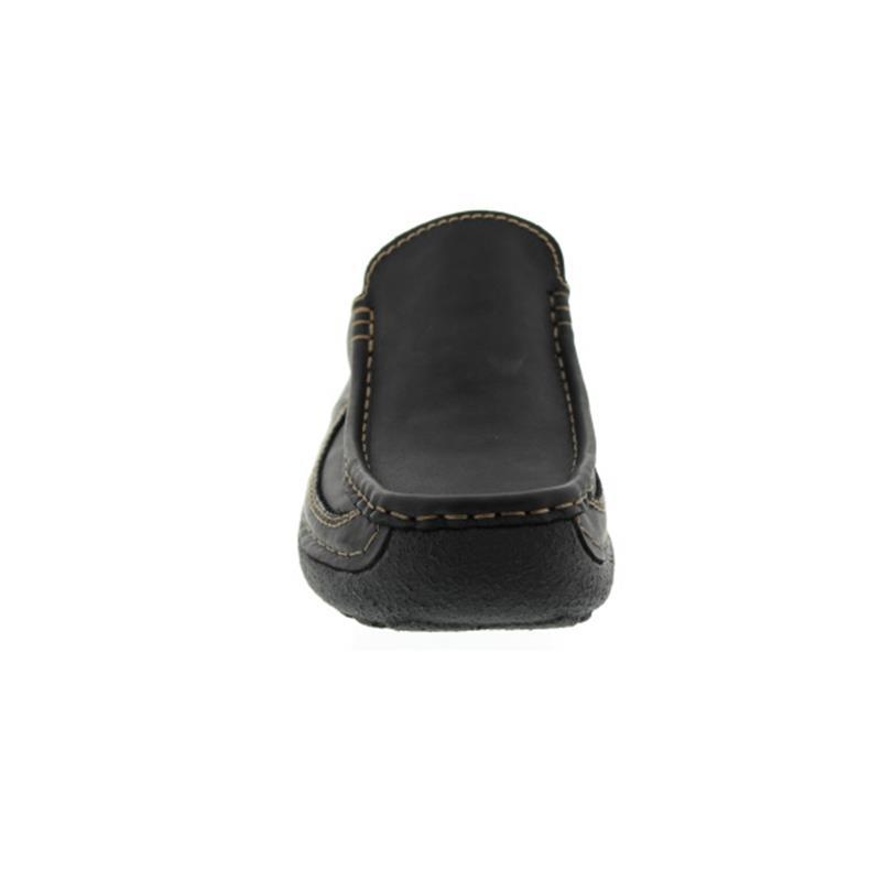 Wolky Roll-Slide Clog, Glattleder, Black 0921050-000