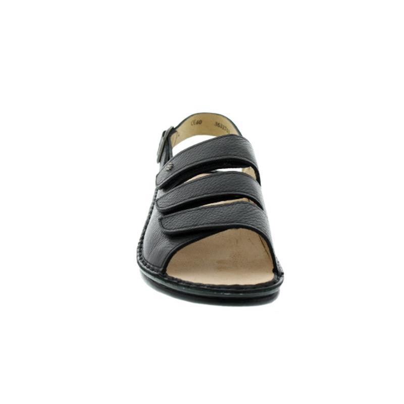 Finn Comfort Sylt, Herrensandale, Bison (Glattleder), schwarz 2509-055099