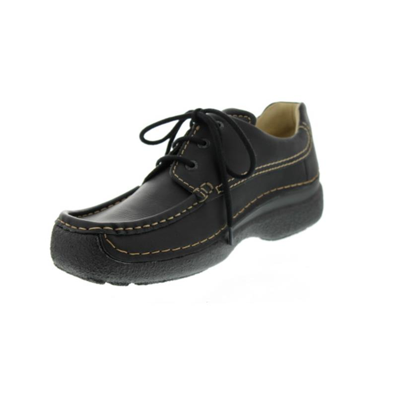 Wolky Roll-Shoe Men, Oiled leather, Black 0920150-000