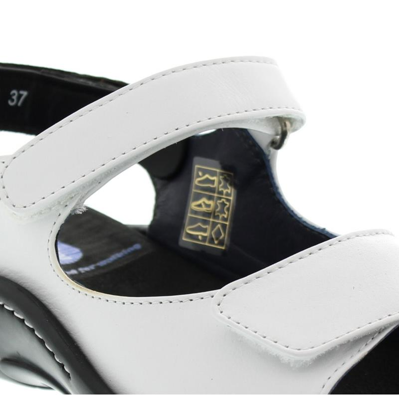 Wolky Salvia, White, Martinica leather, Sandale 01300-30100