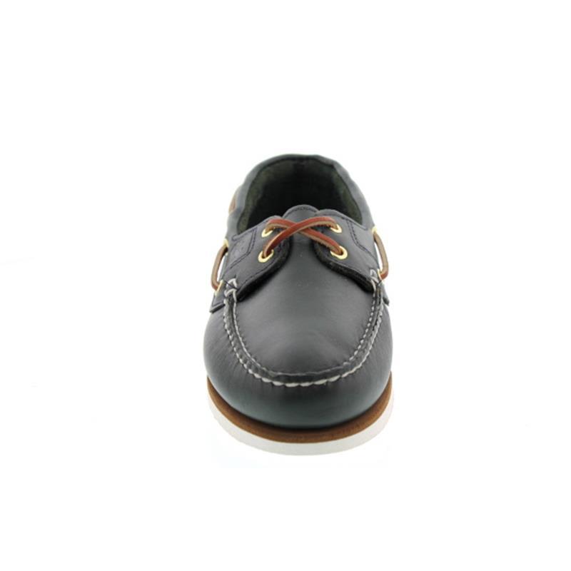 Timberland Damen-Classic 2 I Boat Shoe, MD Blue, Full Grain 72332